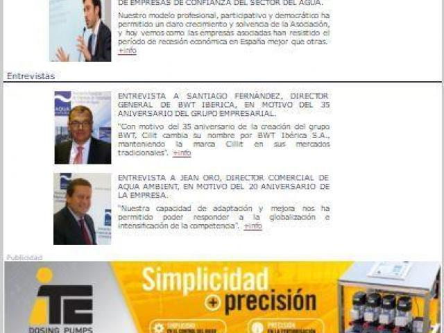 Newsletter trimestral 1/2016
